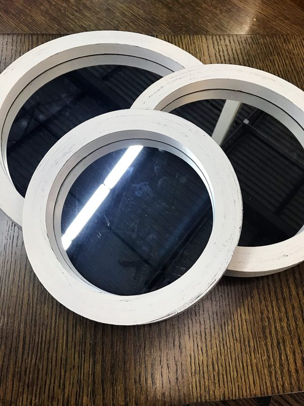 Decorative Wall Mirrors for Sale, Bathroom Mirror Ideas, Round Bathroom Mirrors, White Framed Mirror, Accent Mirror
